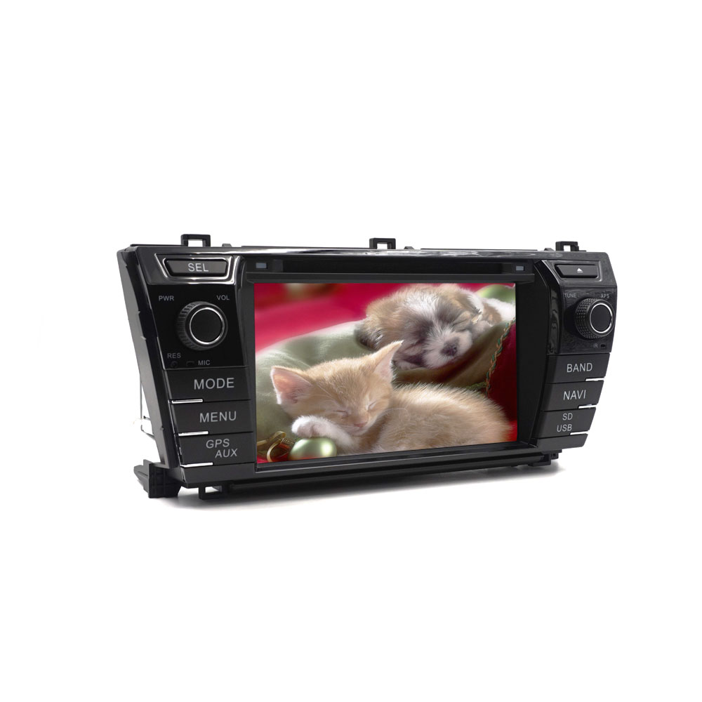 7inch new toyota corolla DVD with GPS